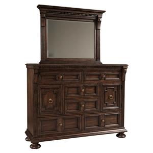 Broyhill Furniture Lyla Chesser and Mirror Set