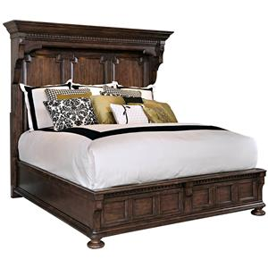Broyhill Furniture Lyla Queen Mansion Bed