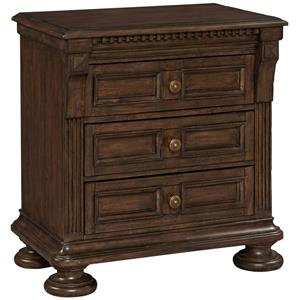 Broyhill Furniture Lyla 3 Drawer Nightstand