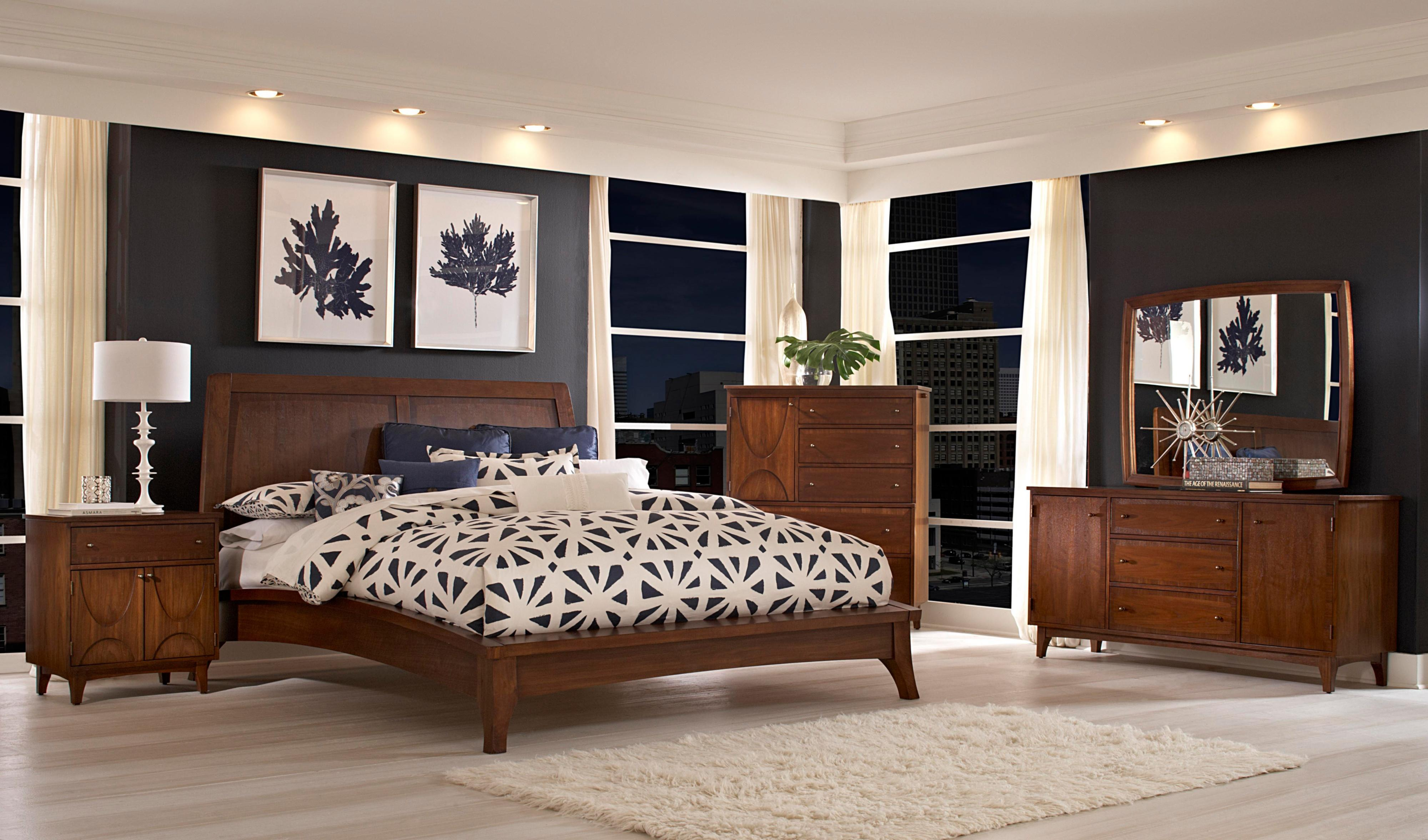 Broyhill Furniture Mardella Bedroom Group - Item Number: 4277 Queen Bed Group 2