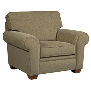 Broyhill Furniture Miller Casual Chair and a Half