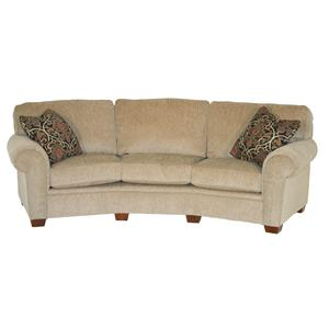 Broyhill Furniture Miller Casual Conversation Sofa