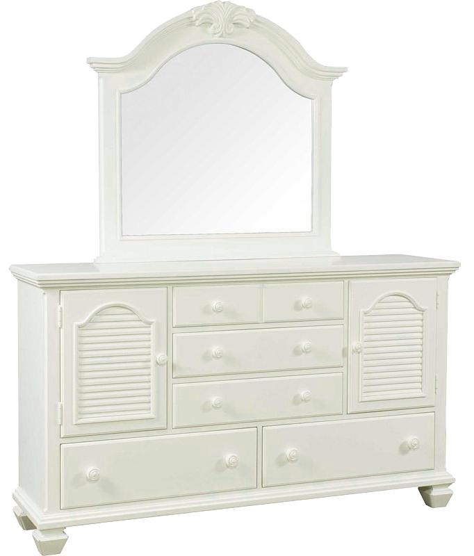 Broyhill Furniture Mirren Harbor Door Dresser with Mirror - Item Number: 4024-232+6
