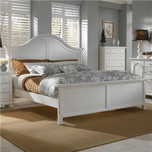 Broyhill Furniture Mirren Harbor King Panel Bed