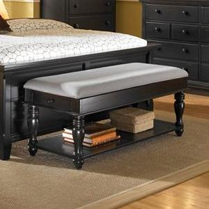 Broyhill Furniture Mirren Pointe Upholstered Bench
