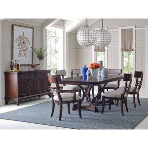 Broyhill Furniture New Charleston Formal Dining Room Group