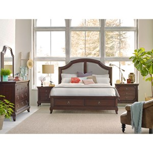 Broyhill Furniture New Charleston Queen Bedroom Group