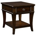 Broyhill Furniture New Charleston Drawer End Table - Item Number: 4549-002