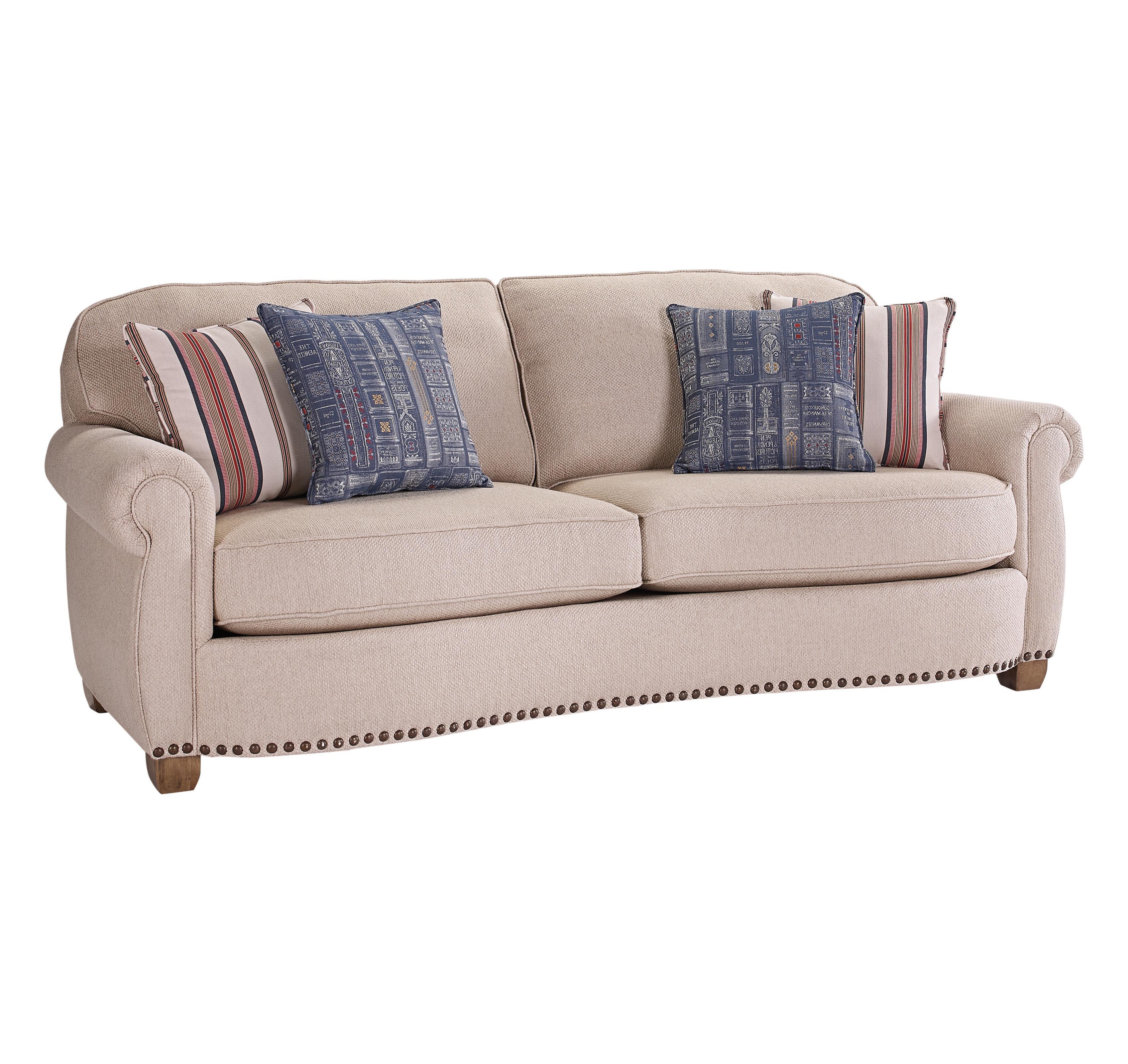 Broyhill Furniture New Vintage Sofa - Item Number: 4258-3-4242-80