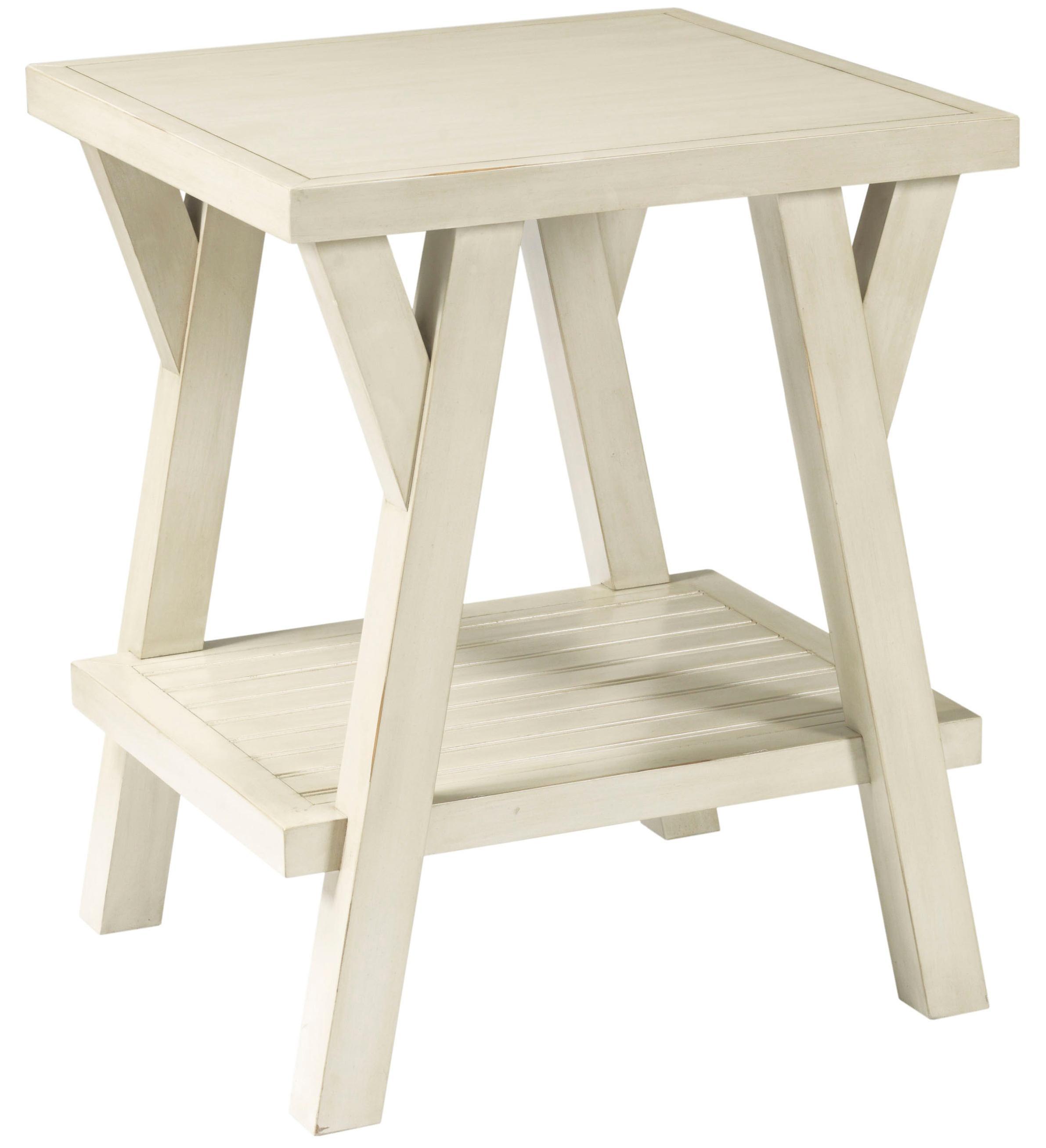 Broyhill Furniture New Vintage Splay Leg End Table - Item Number: 4807-000
