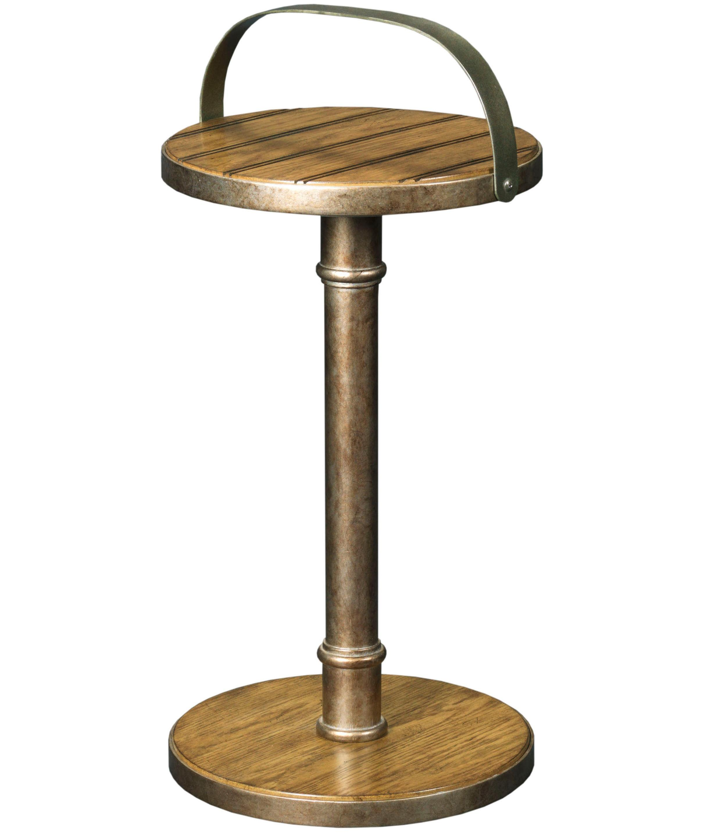 Broyhill Furniture New Vintage Pail Handle Accent Table - Item Number: 4808-007