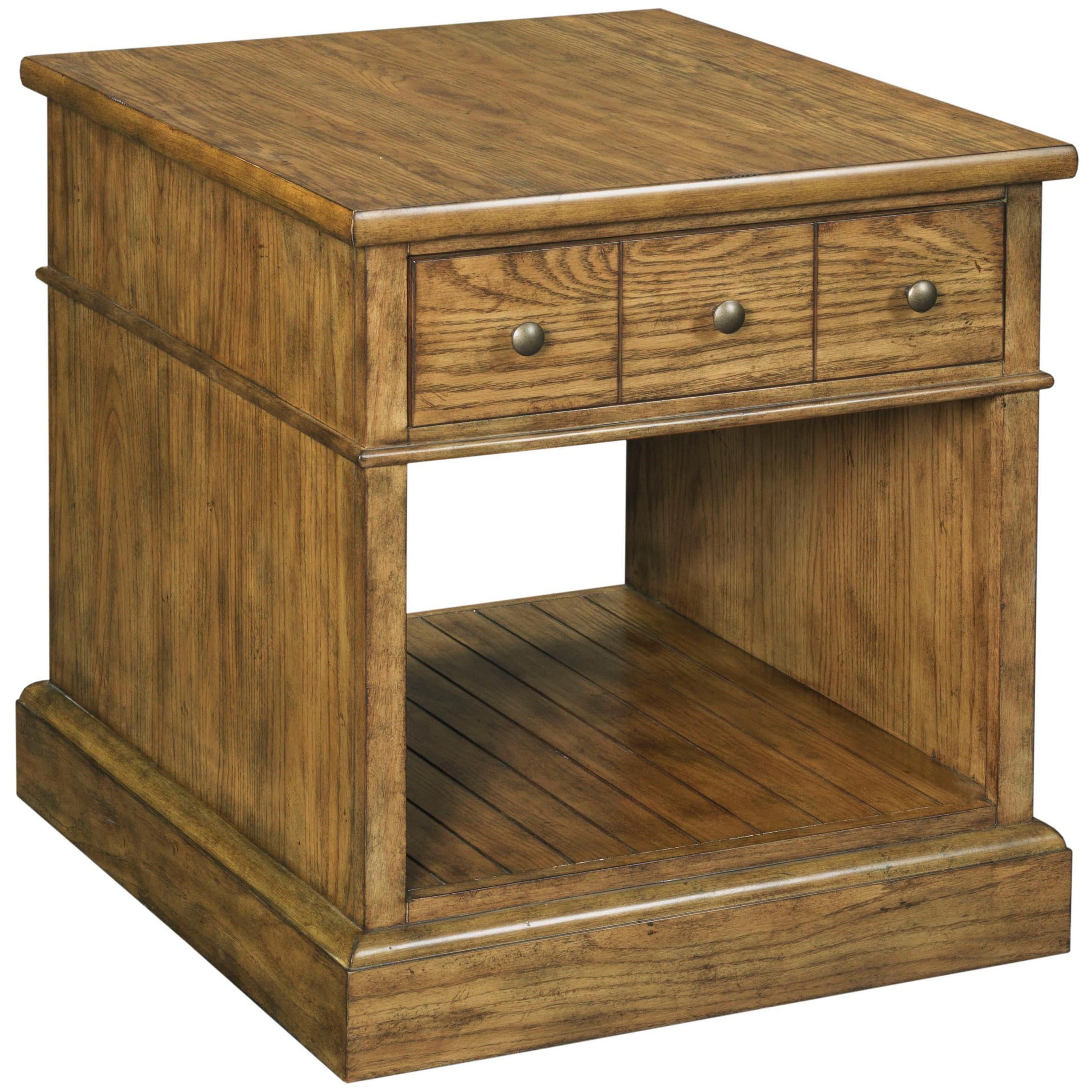 Broyhill Furniture New Vintage Drawer End Table - Item Number: 4808-012