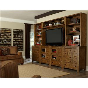 Broyhill Furniture New Vintage Wall Unit