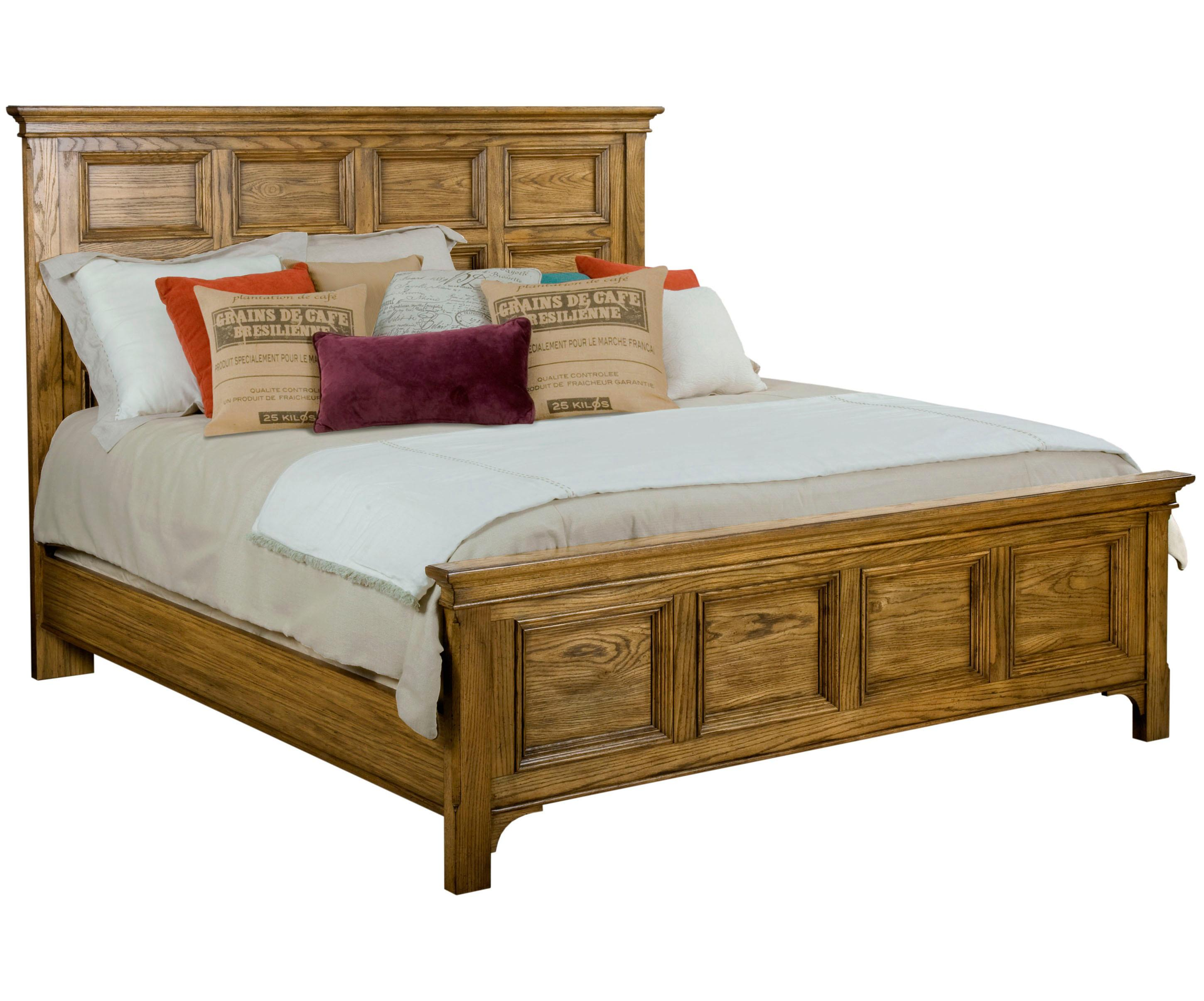 Broyhill Furniture New Vintage California King Panel Bed - Item Number: 4808-274+75+485