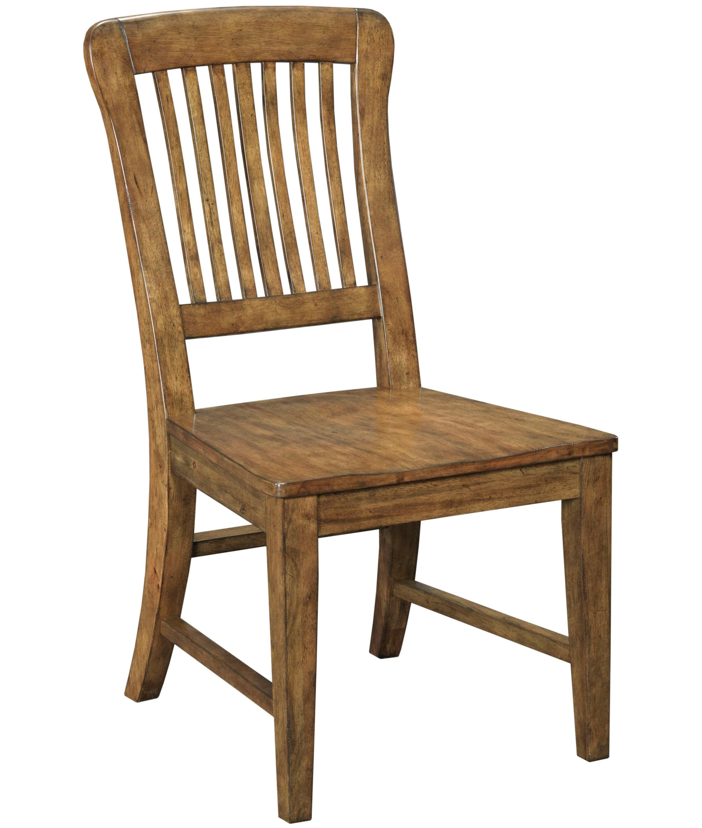 Broyhill Furniture New Vintage School House Wood Seat Side Chair - Item Number: 4808-581