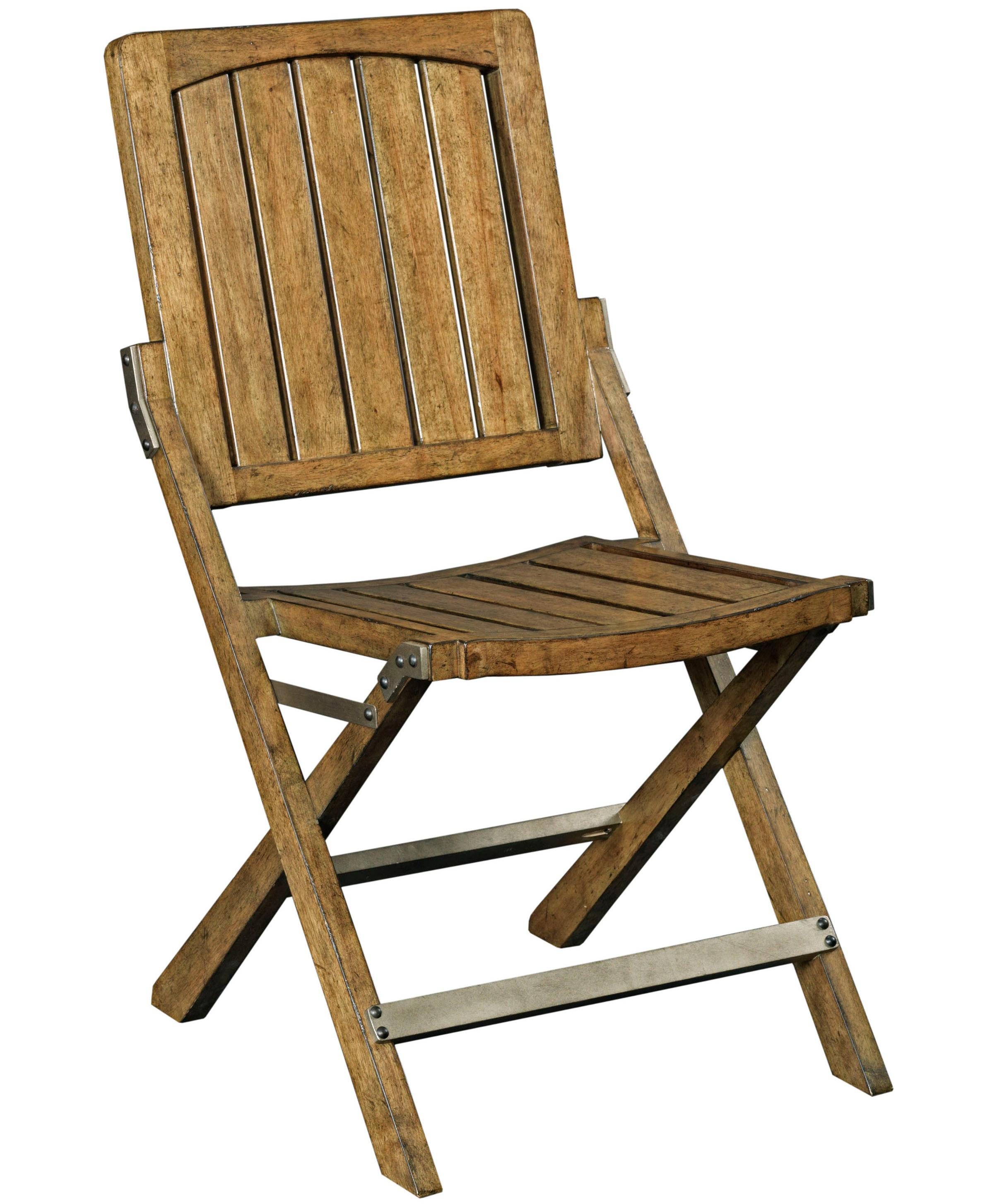 Broyhill Furniture New Vintage Cafe Wood Slat Chair - Item Number: 4808-583