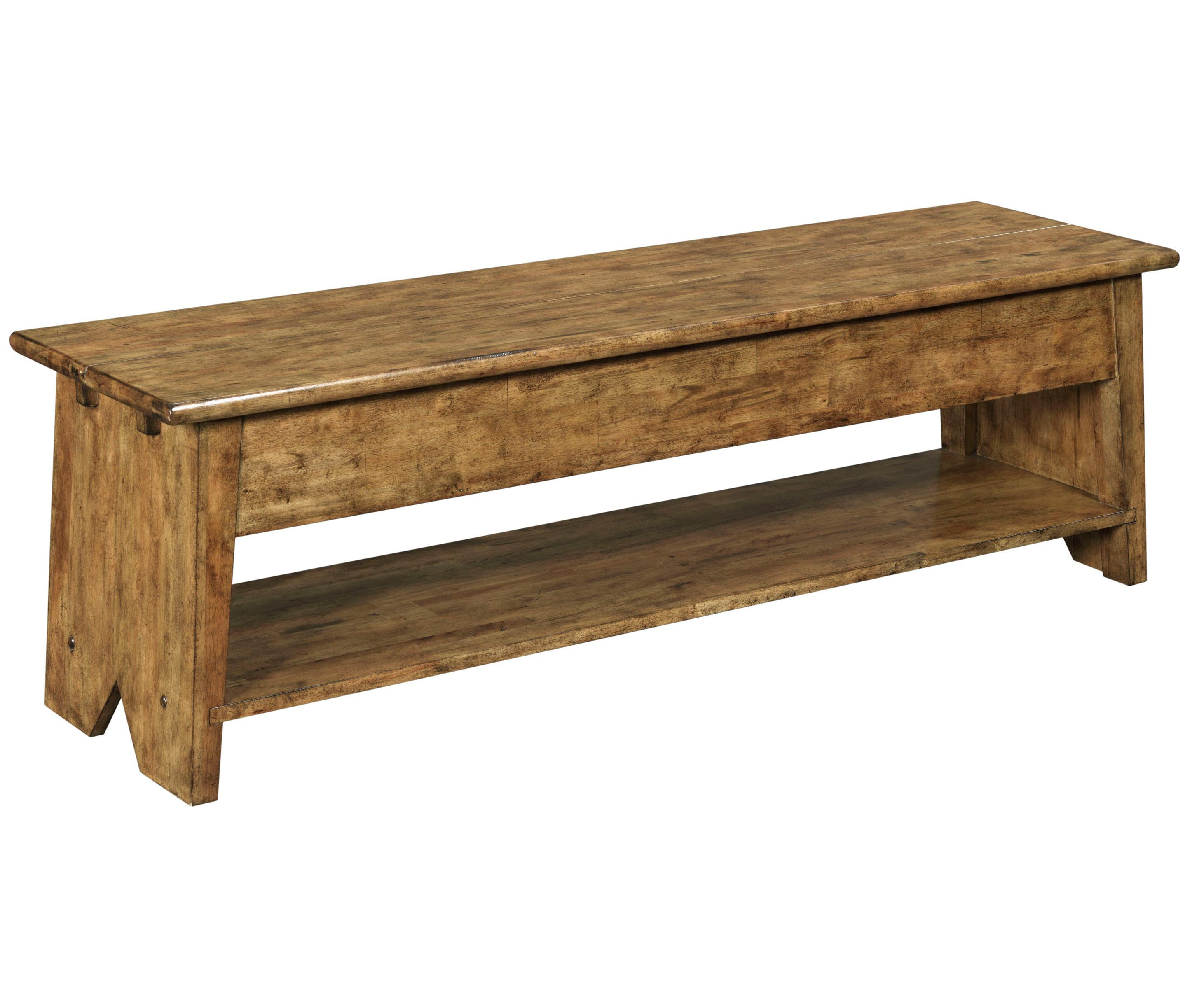Broyhill Furniture New Vintage Lift Top Storage Bench - Item Number: 4808-596