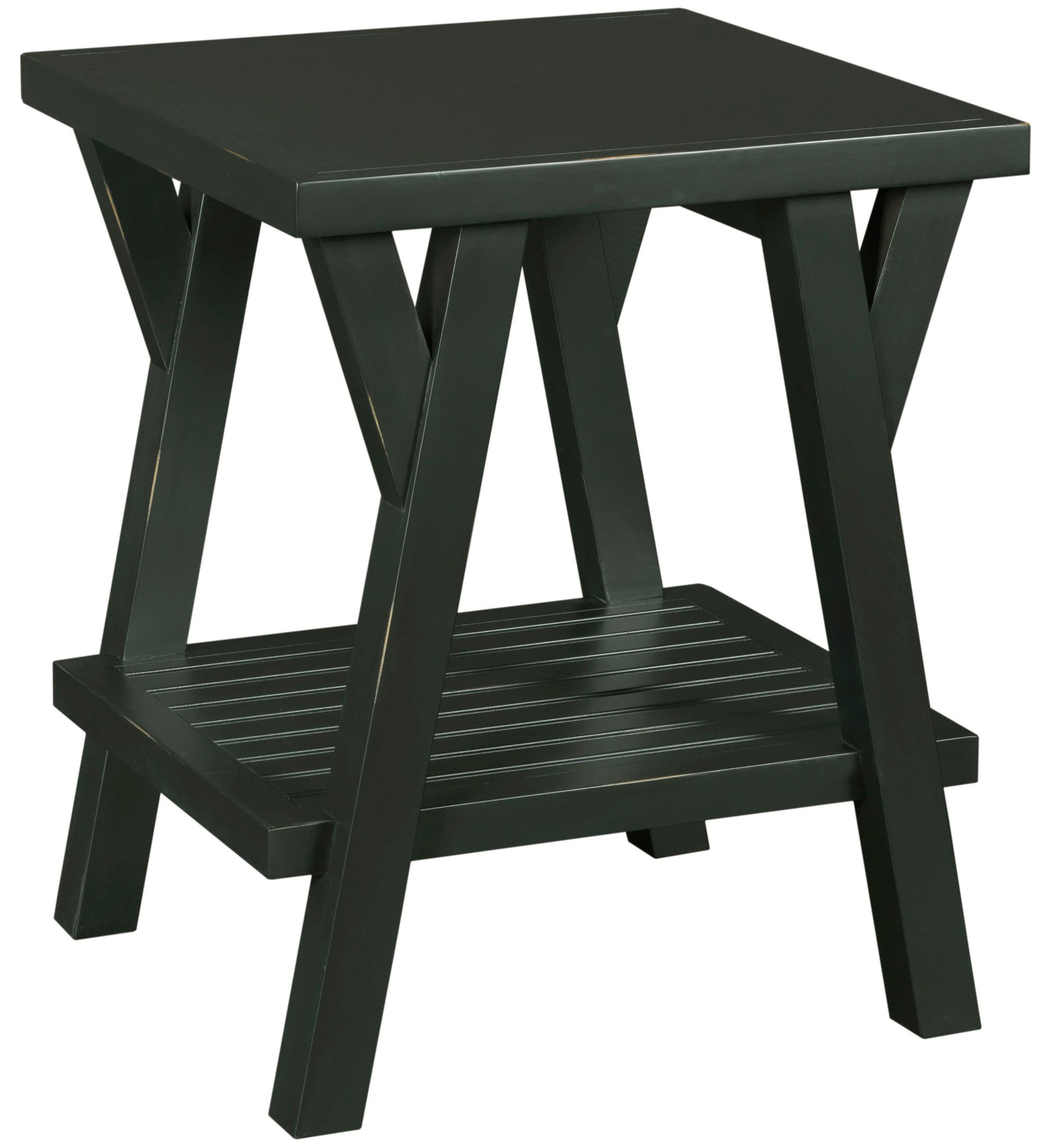 Broyhill Furniture New Vintage Splay Leg End Table - Item Number: 4809-000