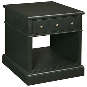 Broyhill Furniture New Vintage Drawer End Table