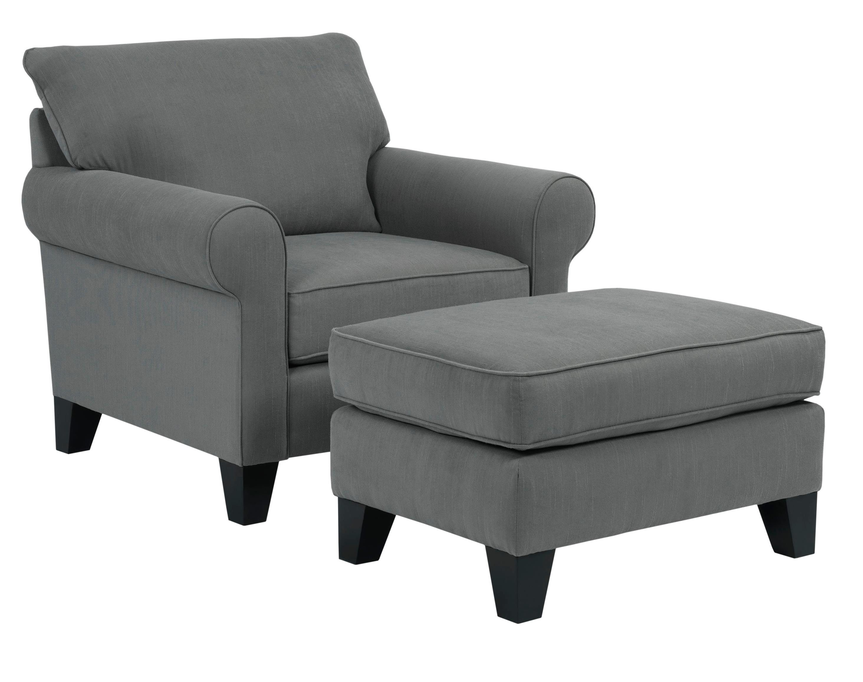 Broyhill Furniture Noda Transitional Chair and Ottoman Set - Item Number: 4230-0+5-4073-94