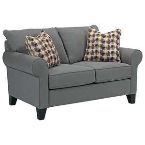 Broyhill Furniture Noda Transitional Loveseat