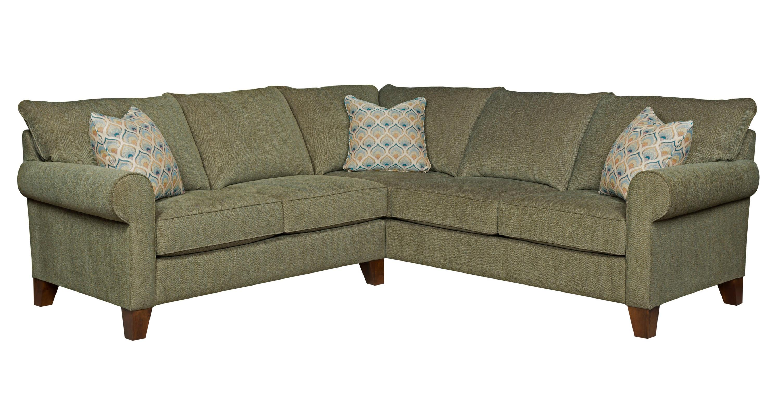 Broyhill Furniture Noda Transitional Sectional Sofa - Item Number: 4231-2+3-4075-27