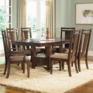Broyhill Furniture Northern Lights 7 Piece Table and Chair Set