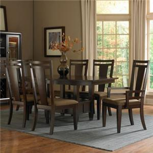 Broyhill Furniture Northern Lights 7 Piece Dining Table Set