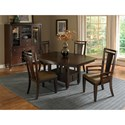 Broyhill Furniture Northern Lights Arm Chair with Upholstered Seat