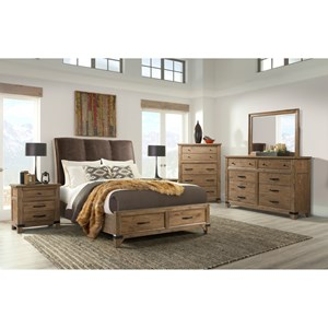 Broyhill Furniture Park City Queen Bedroom Group