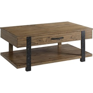 Broyhill Furniture Park City Rectangular Cocktail Table
