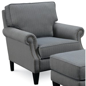 Broyhill Furniture Personalities Accent Chairs Nevis Accent Chair