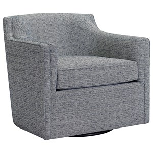 Broyhill Furniture Personalities Accent Chairs Gayle Swivel Chair