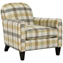 Broyhill Furniture Personalities Accent Chairs Squire Accent Chair - Item Number: 9081-0-4888-21