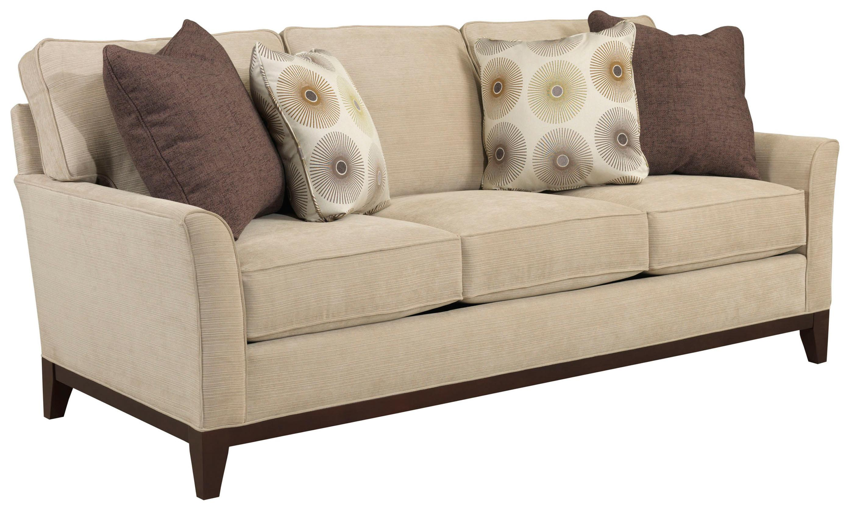 Broyhill Furniture Perspectives Stationary Sofa - Item Number: 4445-3-8510-82