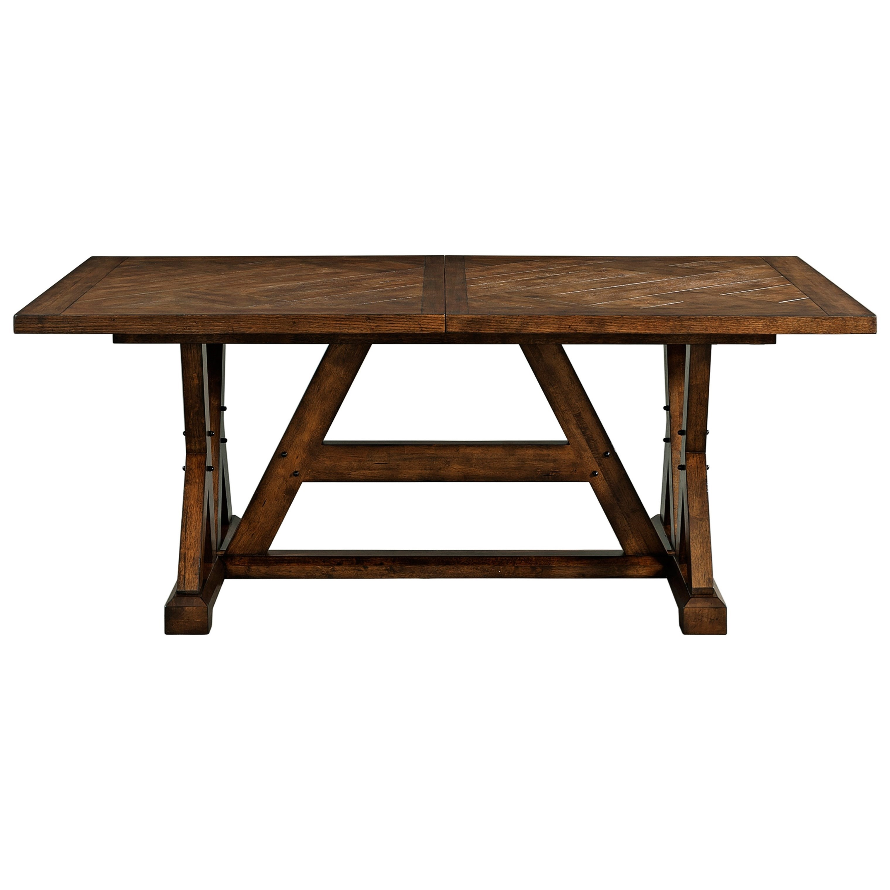 broyhill furniture pieceworks rectangular dining table with leaf