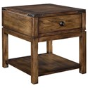 Broyhill Furniture Pike Place Drawer End Table - Item Number: 4850-002