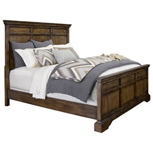Broyhill Furniture Pike Place Queen Panel Bed