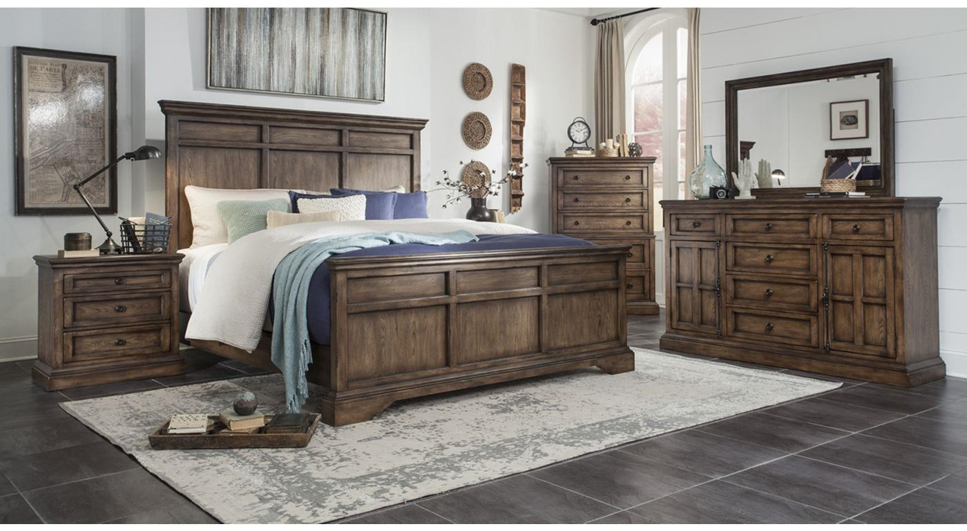 Broyhill furniture pike place 3 piece bedroom set includes for Places to get bedroom sets