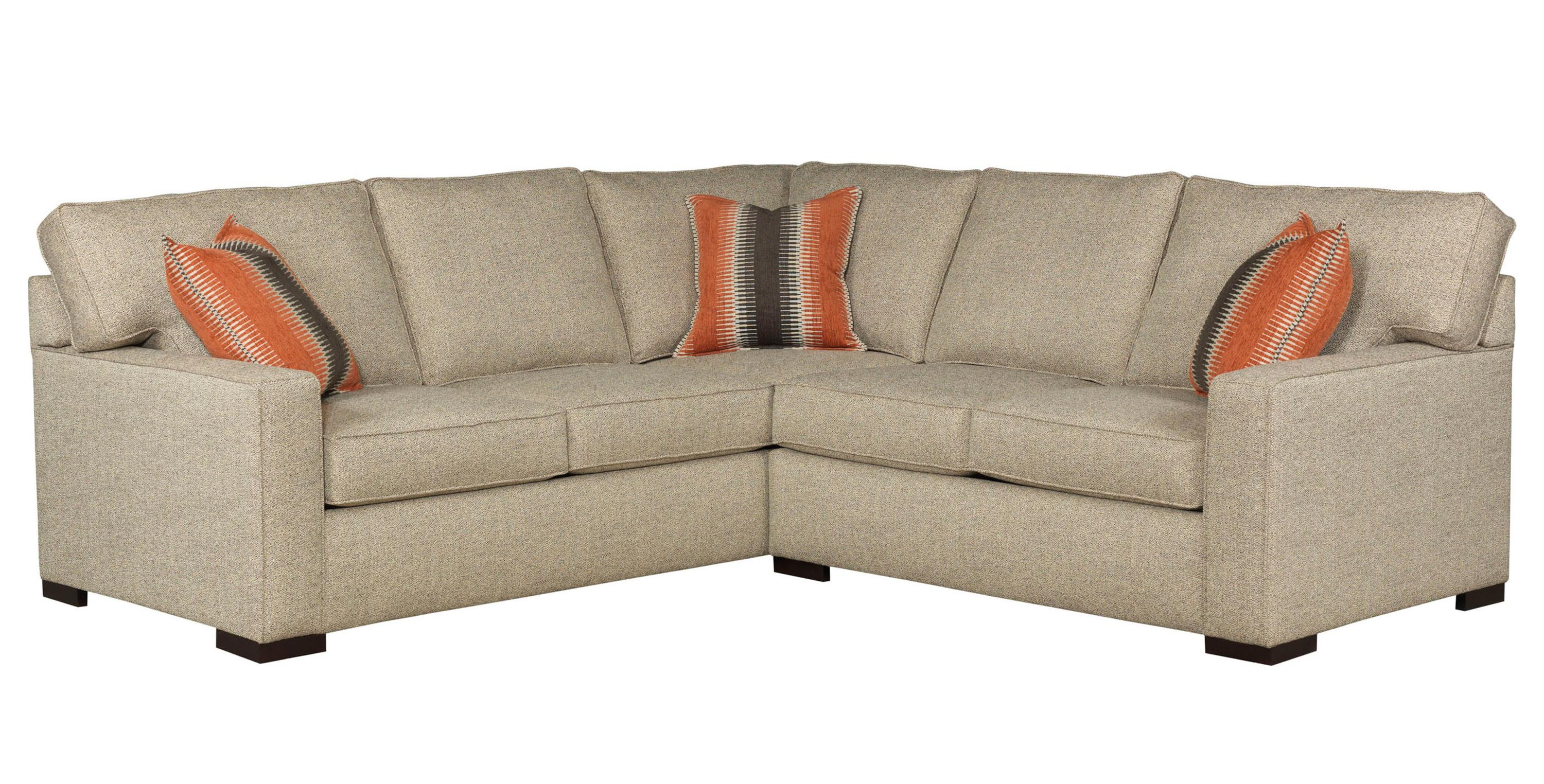 Broyhill Furniture Raphael Contemporary Two Piece Sectional Sofa With RAF  Corner Sofa And Track Arms   AHFA   Sofa Sectional Dealer Locator