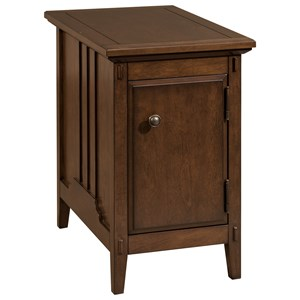 Broyhill Furniture 8712 Aryell Cherry Accent Table