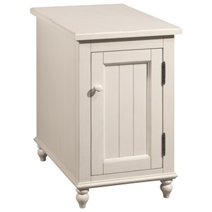 Broyhill Furniture 8712 District White Accent Table