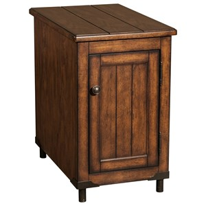 Saluda Oak Accent Table