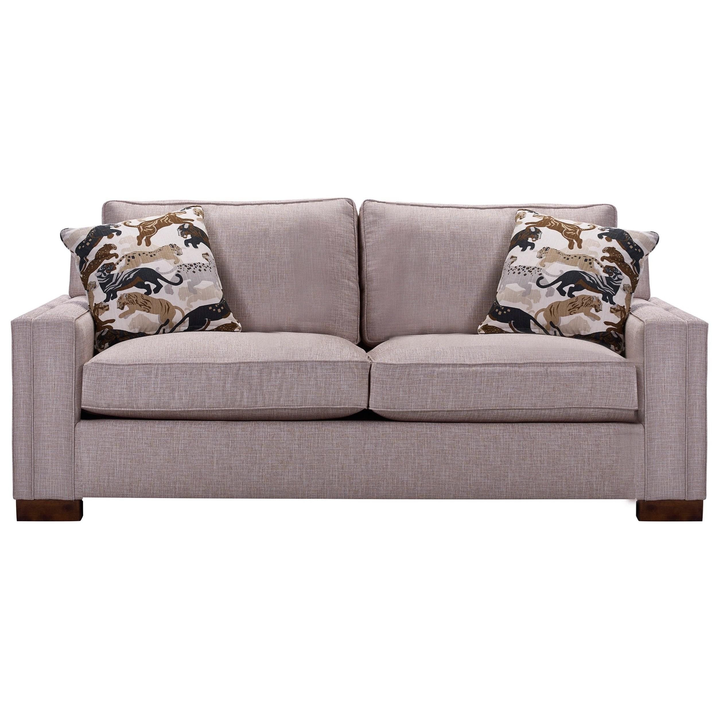 Broyhill Furniture Rocco 4280 2 Apartment Sofa With Sleek Track Arms John V Schultz Furniture