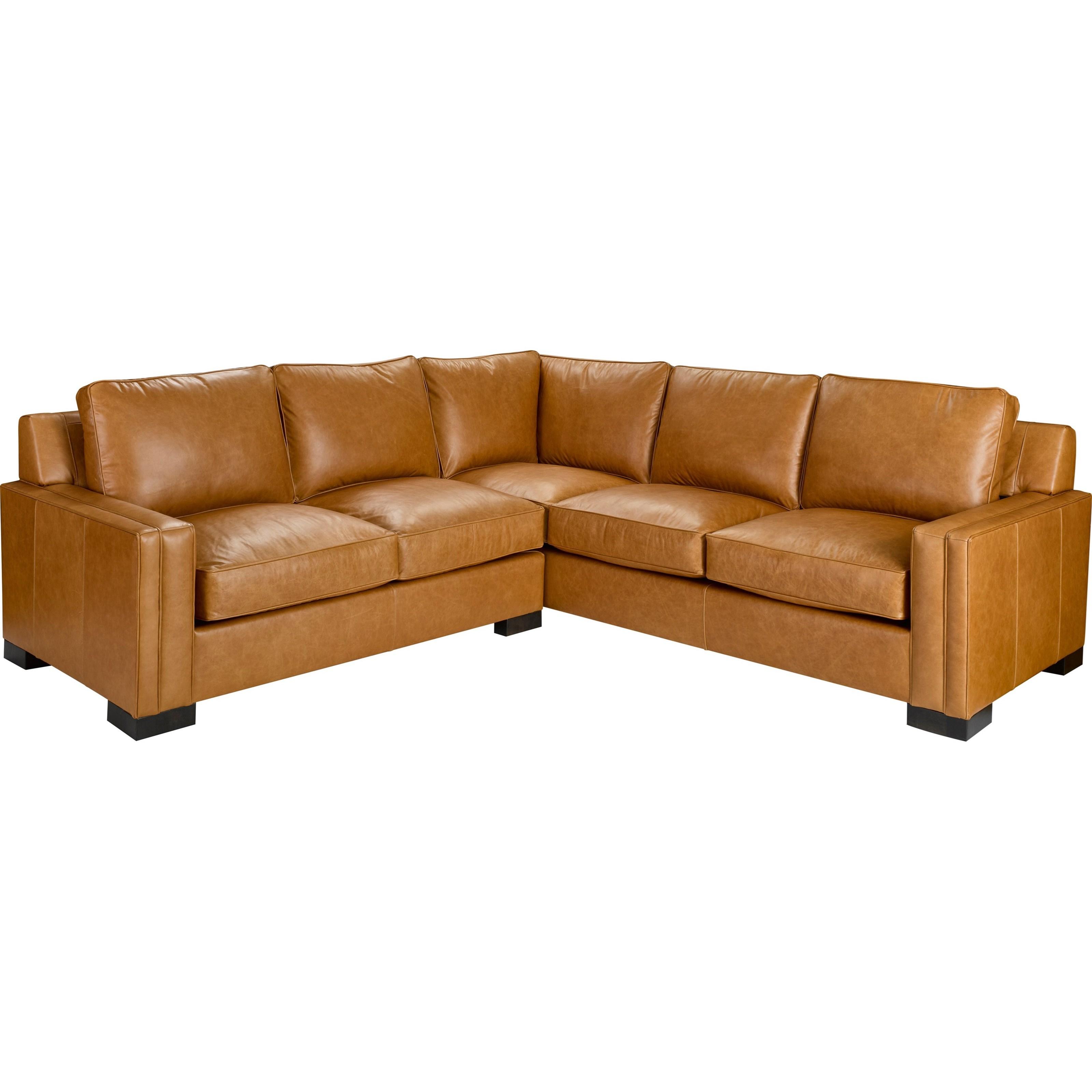 Broyhill Furniture Rocco 2 Piece Sectional With Corner Sofa John V Schultz Furniture