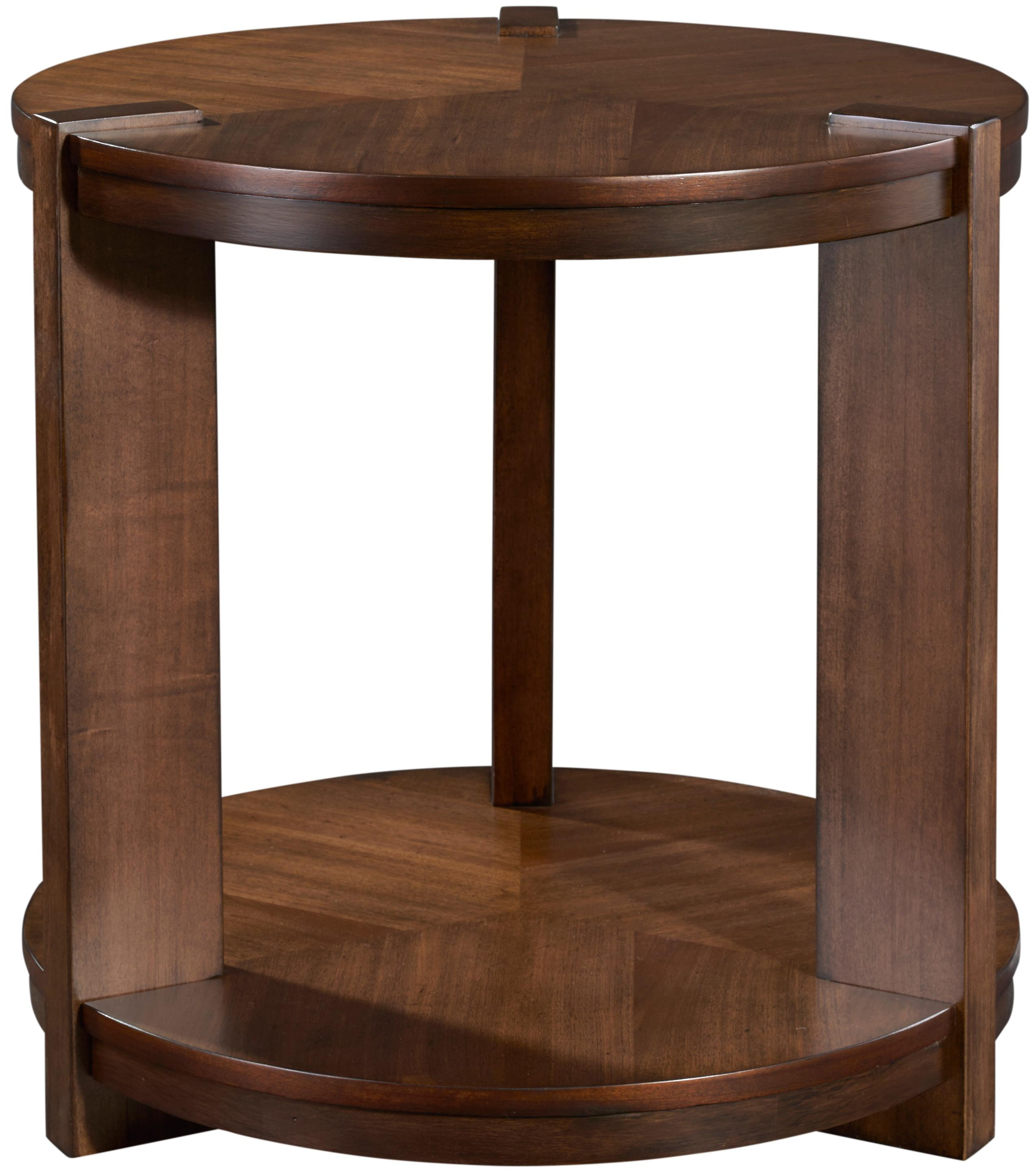 Broyhill Furniture Ryleigh Round End Table - Item Number: 3185-002