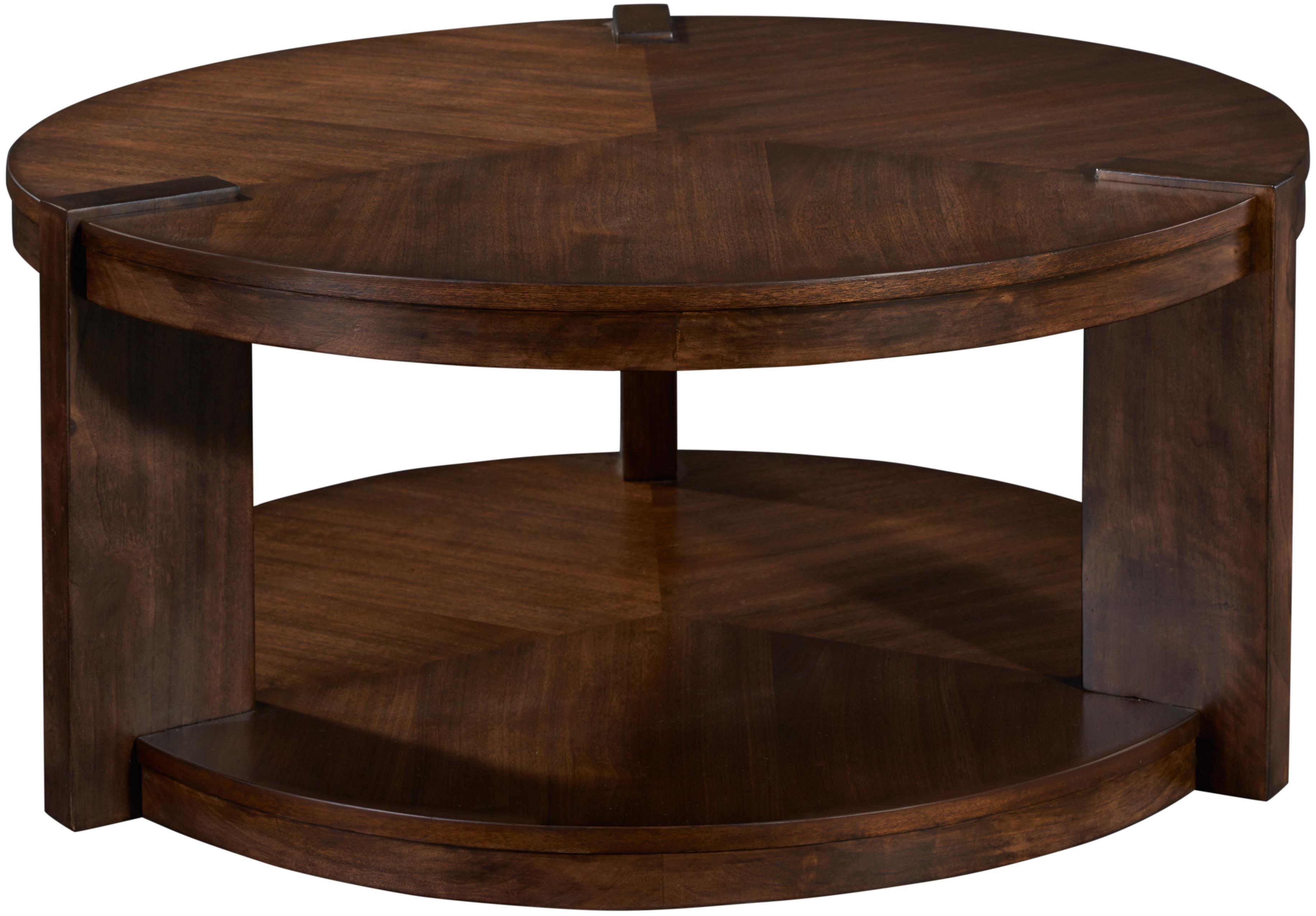 Broyhill Furniture Ryleigh Round Rotating Cocktail Table - Item Number: 3185-003