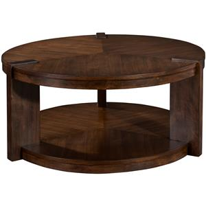 Broyhill Furniture Ryleigh Round Rotating Cocktail Table