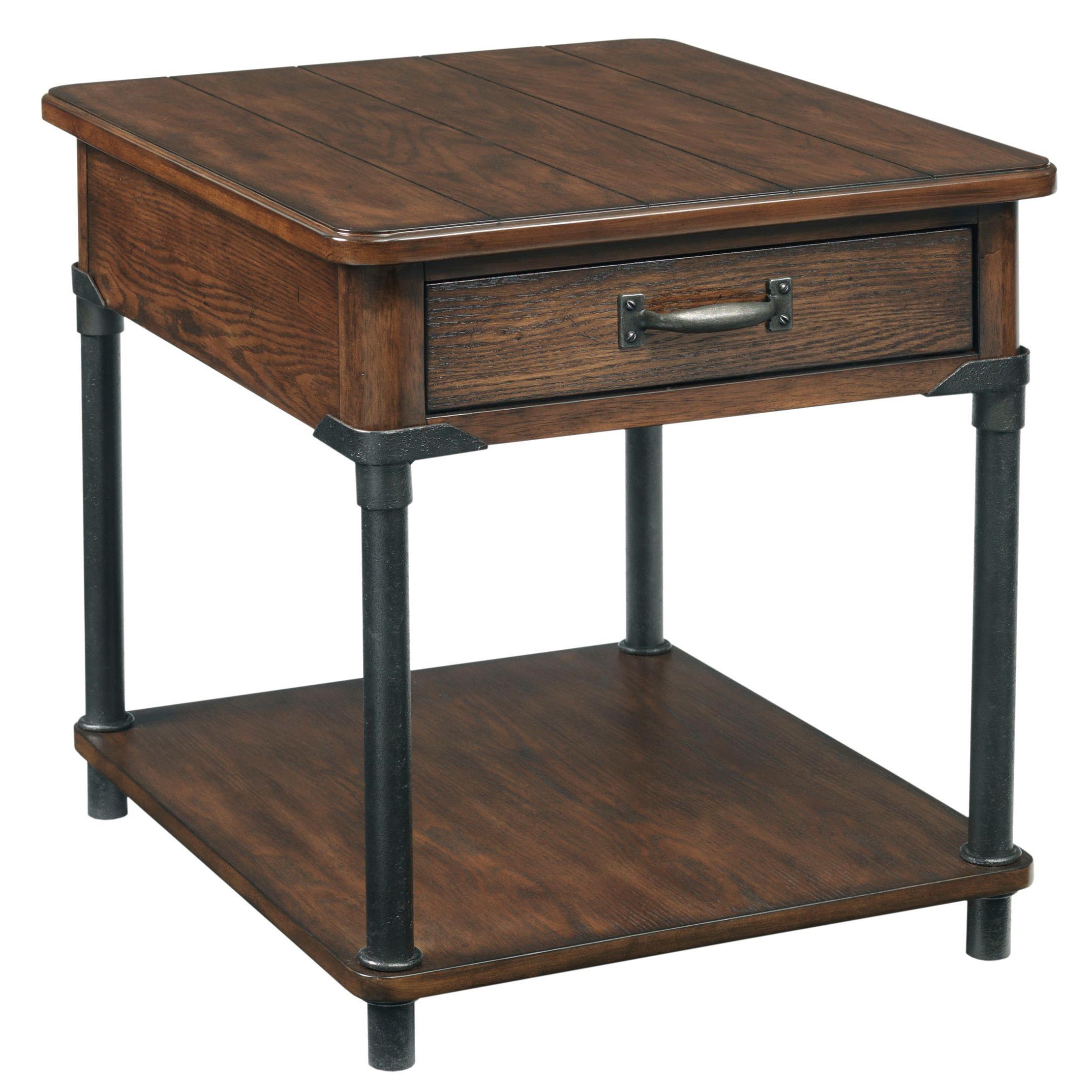 Broyhill Furniture Saluda Drawer End Table - Item Number: 3353-002