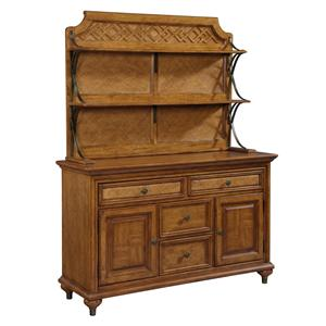 Broyhill Furniture Samana Cove Server & Hutch